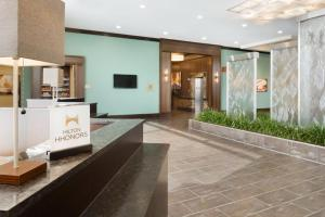The lobby or reception area at Embassy Suites Chicago-Naperville