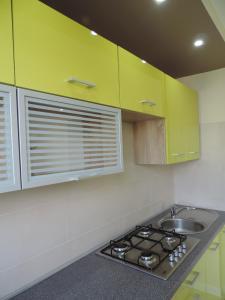 Kuchnia lub aneks kuchenny w obiekcie Apartament Green