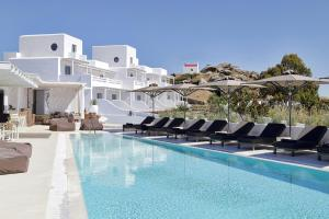 The swimming pool at or near Livin Mykonos Hotel