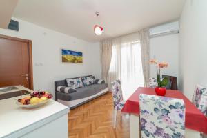 Istumisnurk majutusasutuses Apartments Elena