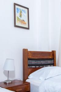 A bunk bed or bunk beds in a room at Hotel & Bungalows Villa Valencia