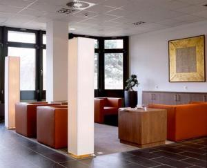 The lobby or reception area at Overnight Tagungshotel im ABZ
