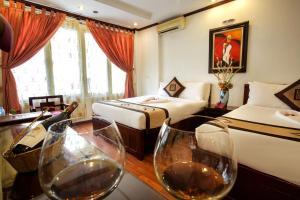 A room at Aquarius Hotel