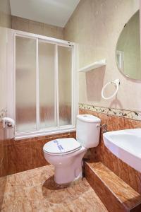Salle de bains dans l'établissement Hostal Inter Plaza Mayor