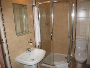 Koupelna v ubytování Apartmán Paradise