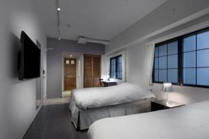 A room at Shinjuku City Hotel N.U.T.S Tokyo