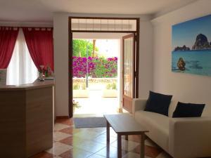 Area soggiorno di Hotel Antares