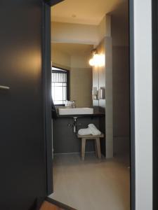 Ein Badezimmer in der Unterkunft Hotel zur Amtspforte