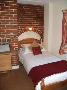 A room at The Castle Inn