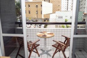 A balcony or terrace at Apartamento Sa e Souza