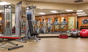 The fitness center and/or fitness facilities at Inn at the 5th