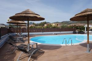 The swimming pool at or near Hotel Il Platano