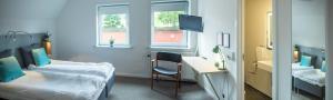 Et værelse på Refborg Hotel
