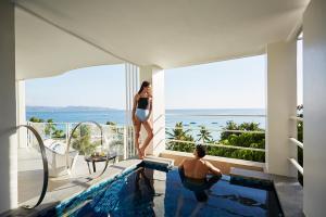 A balcony or terrace at The Lind Boracay