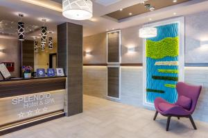 The lobby or reception area at Splendid Conference & Spa Hotel – Adults Only