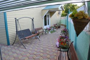 Патио или другая зона на открытом воздухе в Гостевой дом Изумруд