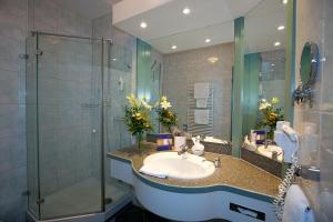 Ein Badezimmer in der Unterkunft Vita Wellnesshotel