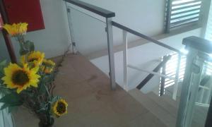 A bunk bed or bunk beds in a room at Apartamento Taiba 2 suítes
