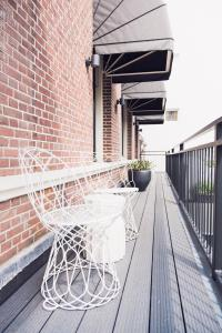 A porch or other outdoor area at Morgan & Mees