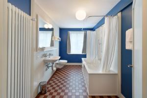 Ванная комната в Hotel im Schlosspark
