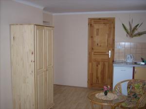 Кухня или мини-кухня в Penzion restaurace U Racaku
