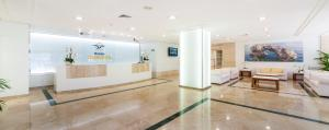 The lobby or reception area at Globales Pionero