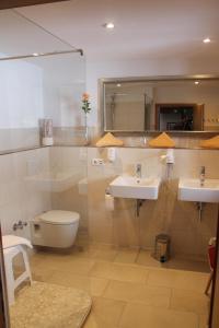 Ein Badezimmer in der Unterkunft Hotel & Restaurant Grüner Baum - Die Grüne Oase Am Feldberg
