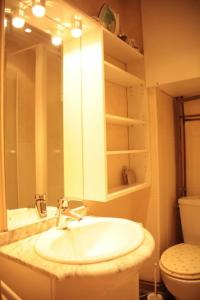 A bathroom at Saint Michel Notre Dame