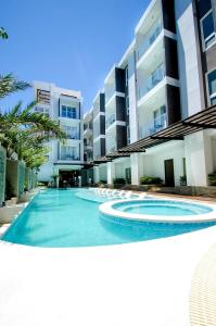 The swimming pool at or near Boracay Haven Suites