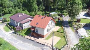 Widok z lotu ptaka na obiekt Dom Kasienka