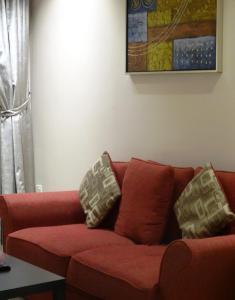 O lounge ou bar de Dar Hashim Hotel Suites - Al Sahafa