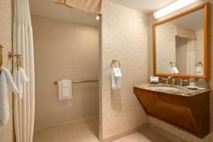 A bathroom at Harrah's Casino & Hotel Council Bluffs