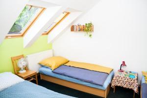 Posezení v ubytování Turisticka ubytovna Cakle