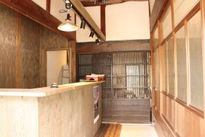 The lobby or reception area at Asuka Guest House
