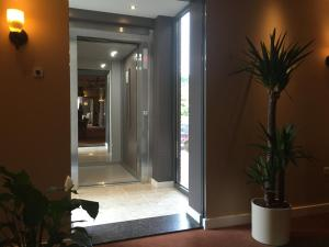 The lobby or reception area at Landhotel Alberts