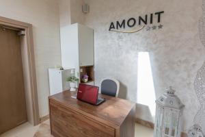 Hol lub recepcja w obiekcie Pensjonat Amonit