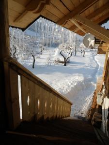 Salamandra Village during the winter