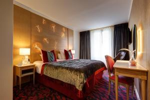 A room at Hotel Muguet