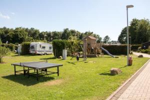 Tischtennis in der Unterkunft Campingplatz Jungferweiher oder in der Nähe