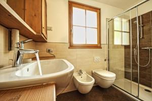 A bathroom at Appartamento Zepp
