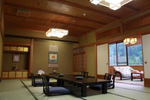 The lounge or bar area at Osake no Oyado Kisen