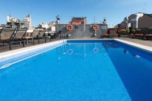 The swimming pool at or near Hotel Jazz