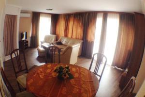 The lounge or bar area at Villa Clara Siofok