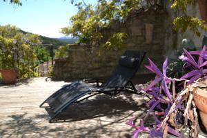 Terrasse ou espace extérieur de l'établissement La Vieille Maison - Halte Gourmande