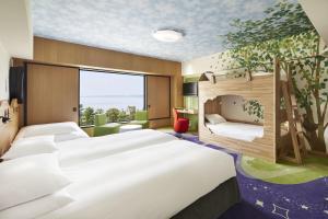Kamar di Hilton Tokyo Bay