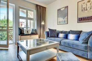 Część wypoczynkowa w obiekcie Lion Apartments - Monte Cassino 42