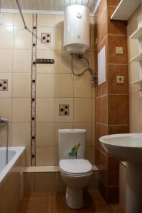 Ванная комната в Регата Хостел