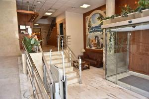 The lobby or reception area at Hotel Adsubia