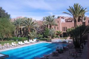 The swimming pool at or near Ouarzazate Le Riad