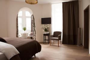 Een kamer bij Hotel Ravene